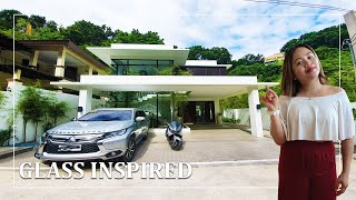 5 Bedroom Modern Glass House With A Pool In Cebu City