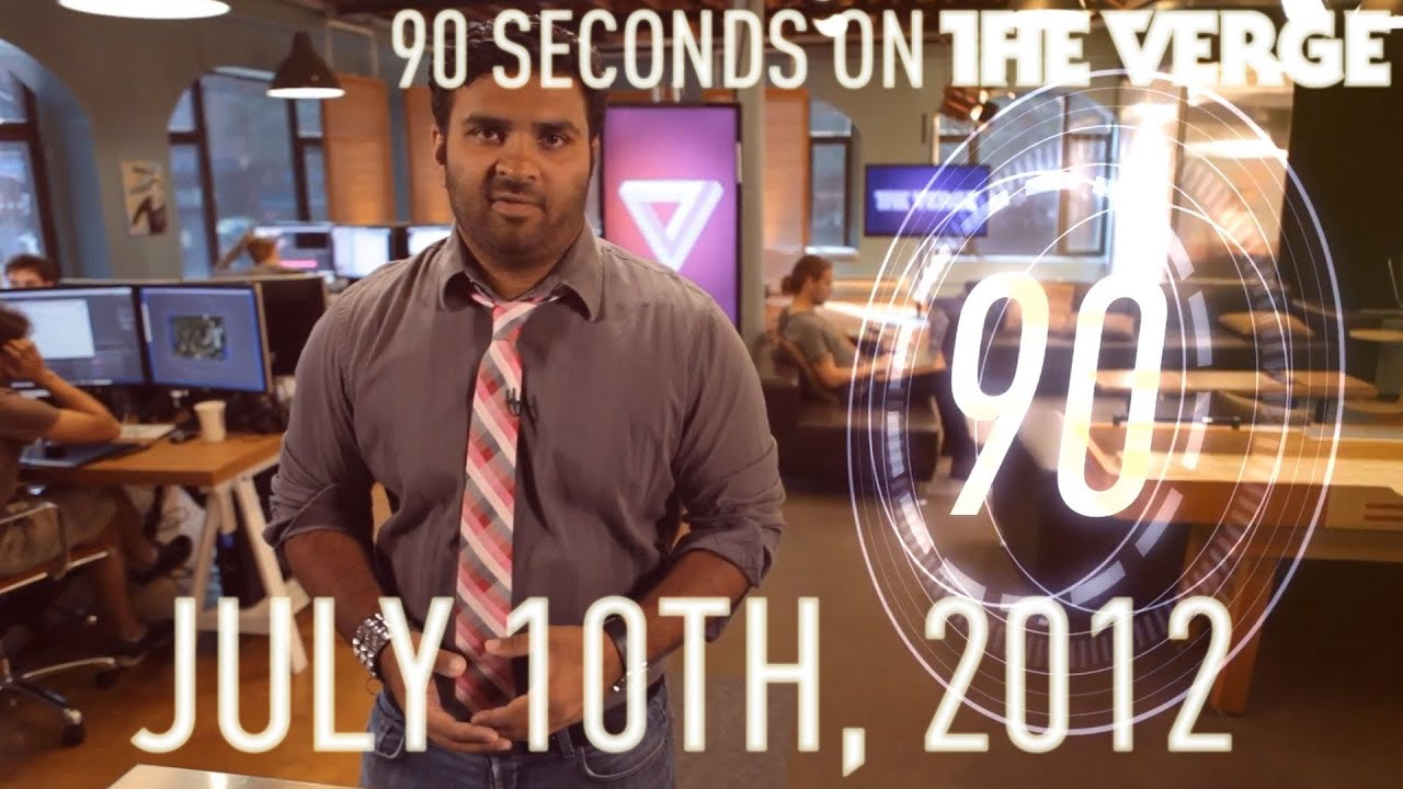 Ballmer aims at Apple, DirecTV loses Viacom, and more - 90 Seconds on the Verge: July 10th, 2012 thumbnail