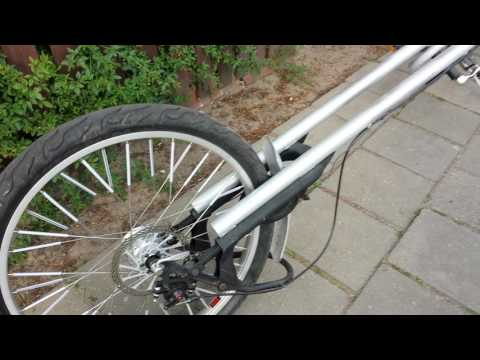 3M Eigenbau Chopper Beachcruiser Fahrrad Klapprad Klappfahrrad Teil 1