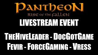 Pantheon: Rise of the Fallen - Livestream - MMO Dream Team