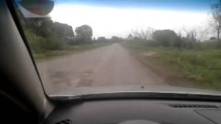 preview picture of video 'Выезд из Шемонаихи, дорога за постом.'