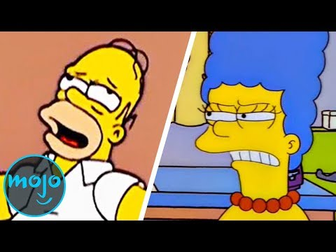 Top 10 Reasons Why Marge Simpson Should Divorce Homer