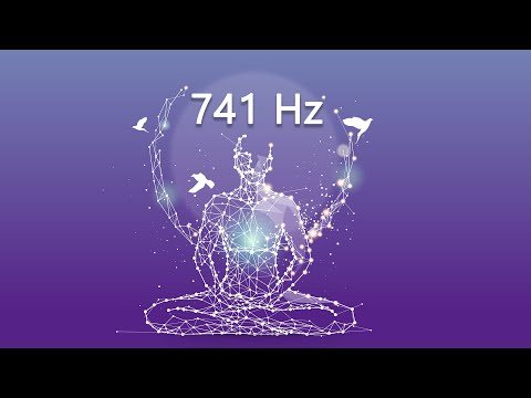 741 Hz Dissolve Toxins and Negative Thoughts, Boost Immune System, Meditation