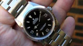 Rolex Explorer 1 Mens Watch Review and Opinion 1016 14270