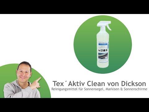 1l Reiniger für Sonnensegel, Markisen, Sonnenschirme mit Sprühaufsatz - Tex´Aktiv Clean von Dickson