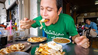 ULTIMATE Street Food in Phuket - BEST EGG ROTI + Fried Noodles! | Thailand Michelin Guide Tour!
