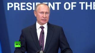 Владимир Путин и Александр Вучич подводят итоги встречи