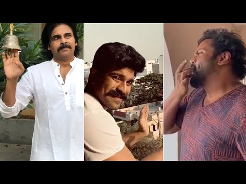 Tollywood Celebrities Claps to Janatha Curfew