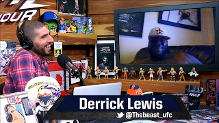 Derrick Lewis Says He's 'One Of The Highest Paid Heavyweights Now'