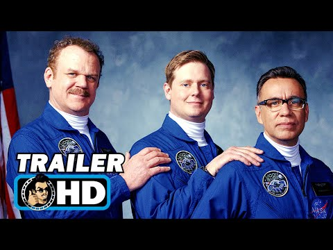 MOONBASE 8 Trailer 2 (2020) John C. Reilly, Fred Armisen Space Comedy