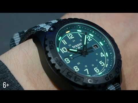 Видео-обзор часов Traser P96 OdP Evolution Green 109038