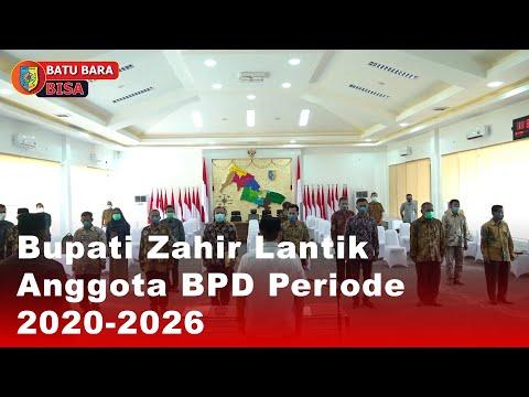 Bupati Zahir Lantik Anggota BPD Periode 2020-2026
