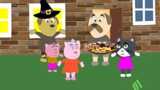 Мисс Китти - Хэллоуин. Мультфильмы для детей