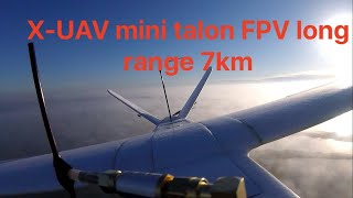 X UAV mini talon FPV long range 7km