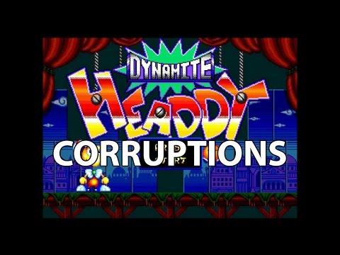 Dynamite Headdy Corruptions