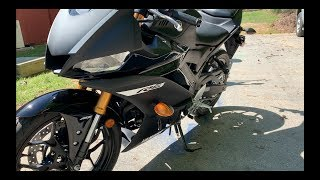 First Ride 2019 Yamaha YZF R3 Matte Black