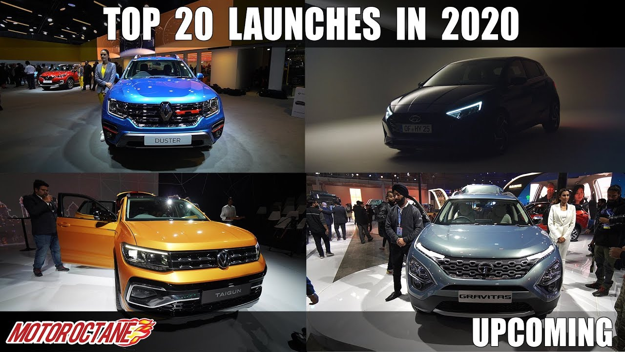 Motoroctane Youtube Video - Can't Miss - Top 20 Car Launches In 2020 in India | Hindi | MotorOctane