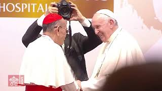 El Papa visita Hospital San Luis de Bangkok