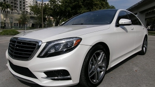 FOR SALE 2015 Mercedes Benz S550 with AMG Wheels top of the line