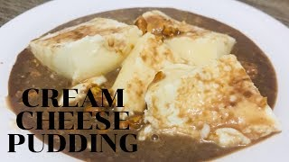 How To Prepare Easy Cream Cheese Pudding In Melted Chocolate...