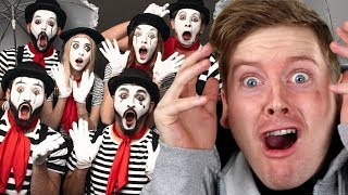 Vlog Squad Become Mimes For A Day - Zane Hijazi Reaction