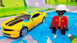 Мультики про машинки. Приключение желтой машинки в мультике – Желейная Броня. Мультфильмы для детей
