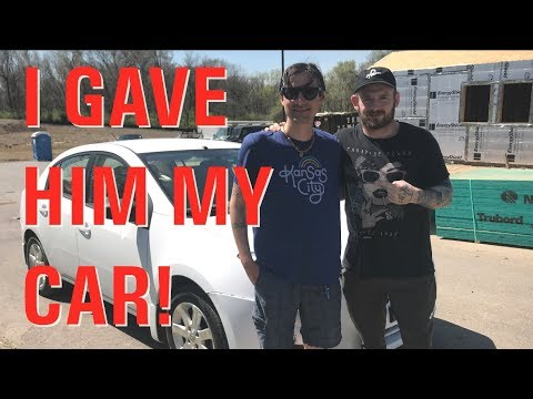 I Gave My Car to a Homeless Veteran