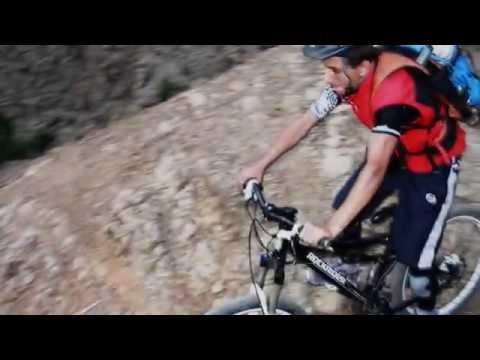 Singletrack mountain bike in Morocco
