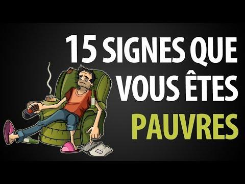 15 Signes Que Vous Êtes Pauvres 15 Signes Que Vous Êtes Pauvres