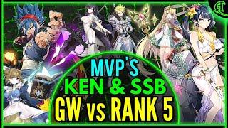 VS Rank 5 Clan! (Ken & SS Bellona MVP's) Guild War Epic Seven PVP Epic 7 Gameplay Epic7 E7 GW #29