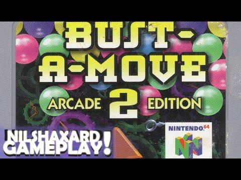Bust A Move 2 - Arcade Edition (Nintendo 64) - Nilshaxard Gameplay