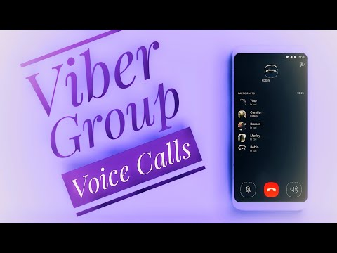 Viber New Features - How to make Viber Group Voice Calls in Android Phones