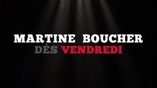 Ce vendredi: Martine Boucher