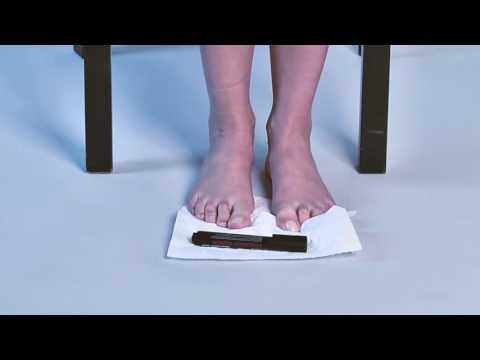Jak leczyć guzek pieszo blisko palucha w domu