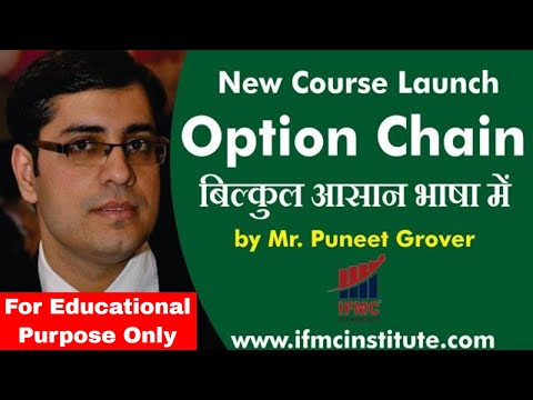 Option Chain A Must Do Course For Options Trading ll IFMC Institute ...