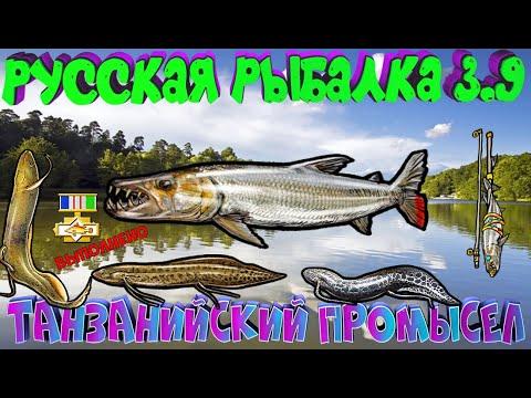 Русская рыбалка 3.9. Танзанийский промысел. ЗАВЕРШЕНИЕ.