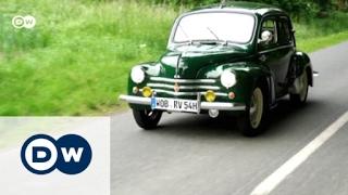 RENAULT - Chic: Renault 4CV   Motor mobil