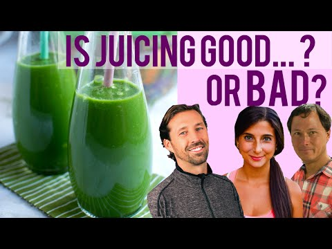 Video Is Juicing Healthy? Should You Drink Juice? Learn from Experts