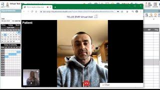 EMR Virtual Visit demo for Med Access