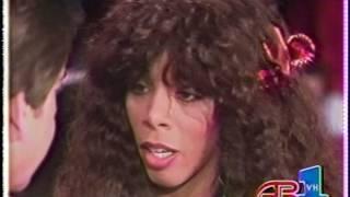 Donna Summer - Supernatural Love & Im Free  American Bandstand 1983