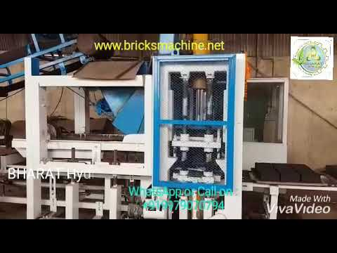 BHAS-201AV Automatic Vibrotech Bricks & Block Making Machine with Auto Stacker System