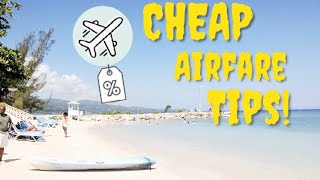HOW TO FIND CHEAP FLIGHTS (2020 budget travel hacks & tips ) Part 1