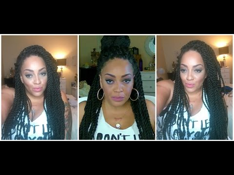 Senegal Twist Braid Wig HOW TO MAKE IT LOOK NATURAL sistawigs.com