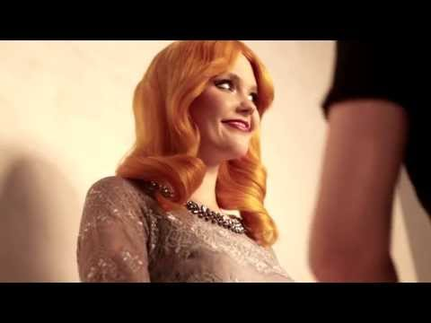 Rich & Royal FW 2013 campaign making of with bonnie strange