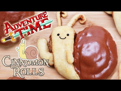 ADVENTURE TIME SNAIL CINNAMON ROLLS – NERDY NUMMIES