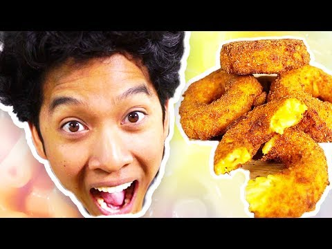 Mac N Cheese Donuts!!!