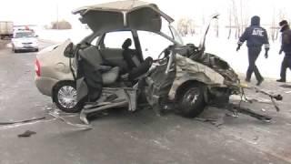 Страшное ДТП произошло сегодня под Оренбургом на трассе Оренбург – Казань
