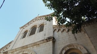 preview picture of video 'Is St. Joseph Church, Nazareth Israel is the home of the Holy Family or Joseph's carpentry workshop?'