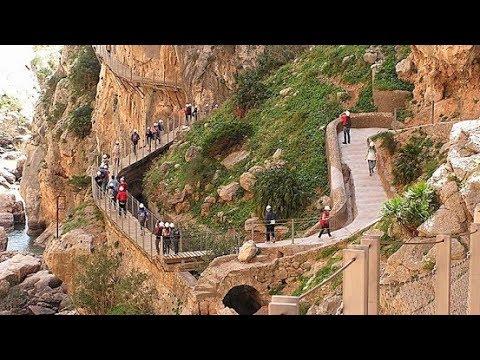 El Caminito del Rey Path. Málaga