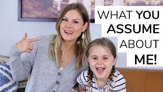 WHAT YOU ASSUME ABOUT ME | Date Nights, Discipline, Skin Care + More!